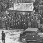 Deux vues inédites des places des Prêcheurs et Verdun en 1946