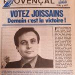 1977 - Alain Joissains
