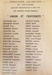 1977 - Jean Altimare
