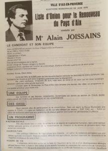 1978 - Alain Joissains