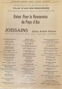 1979 - Alain Joissains