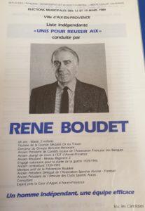 1989 - René Boudet