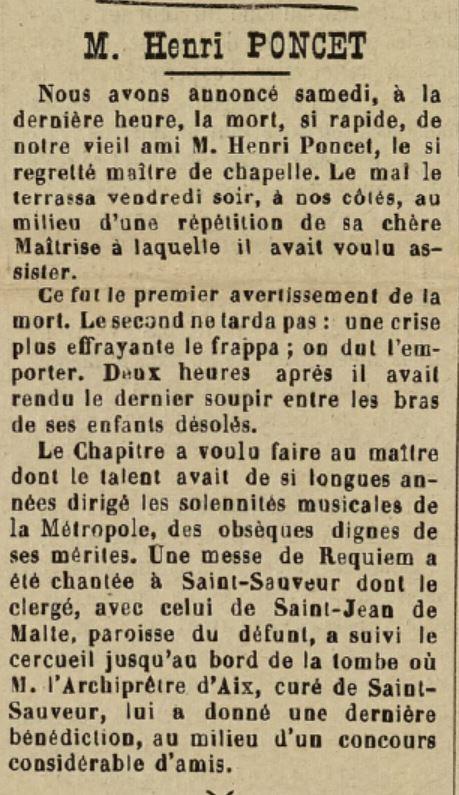 LA PROVENCE NOUVELLE DU 12 MARS 1905