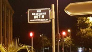 Rue Magdeleine Hutin