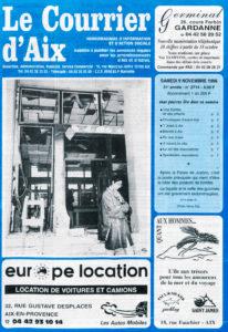 L'attentat de la Poste à Aix