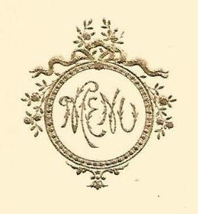 Menu de mariage au Sextius